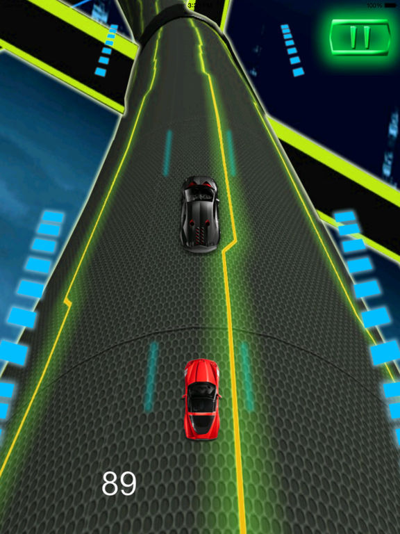 A Extreme Race Neon Pro - Amazing Speed Light Car screenshot 8