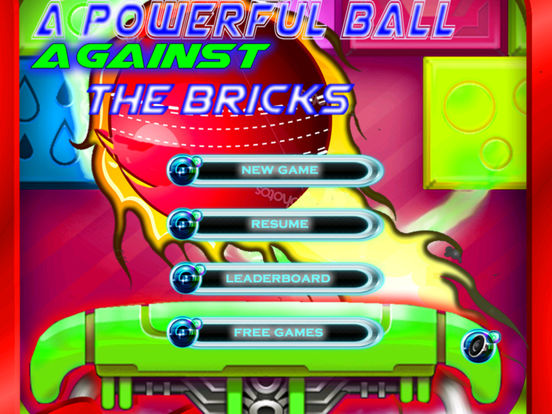 A Powerful Ball Against The Bricks PRO - Best Game screenshot 6