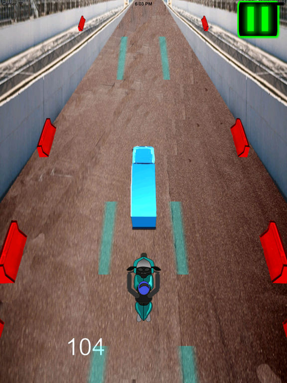 A Fast Motorcycle Racing Fury - A Lighted Track screenshot 9
