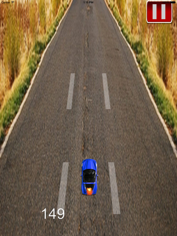 A Super Fast Car Race - Fury On The Road screenshot 8