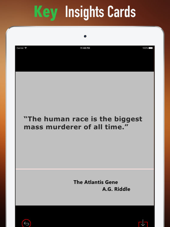 Quick Wisdom from The Atlantis Gene-A Thriller screenshot 9