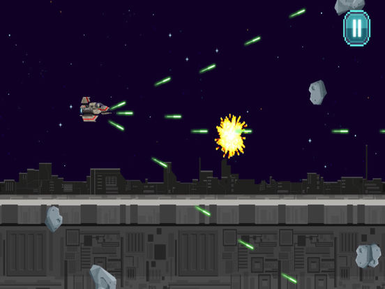 Action Star Fighter - Retro Space Shooter Game screenshot 6