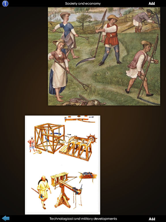 Medieval History Info! screenshot 9