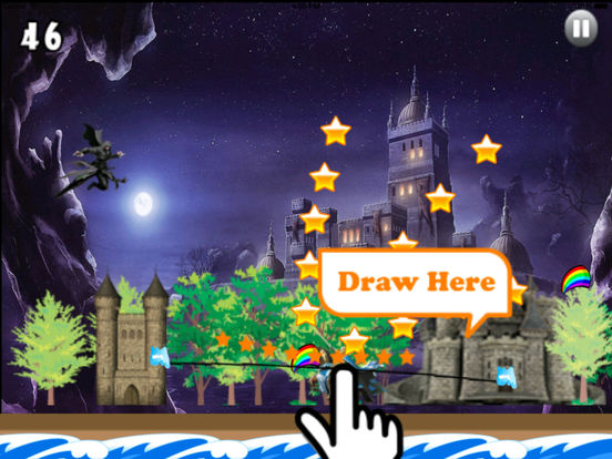 A Dark Wizard Jump Pro - Magic With Air Race screenshot 8
