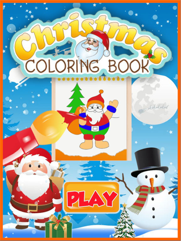 Adult Coloring Book : Christmas Drawing Pages screenshot 5
