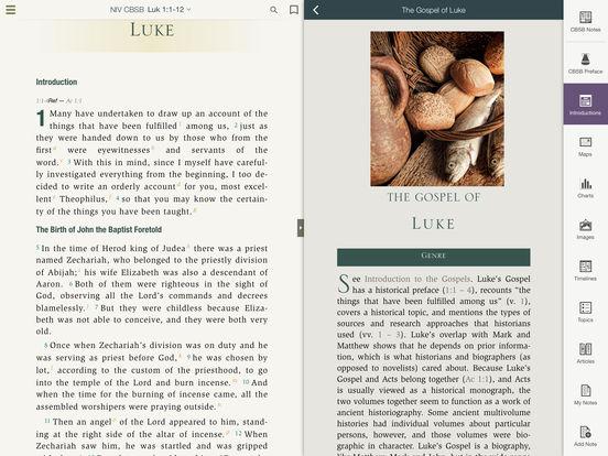 NIV Cultural Backgrounds Study Bible screenshot 8