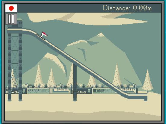 Retro Winter Sports 1986 screenshot 8