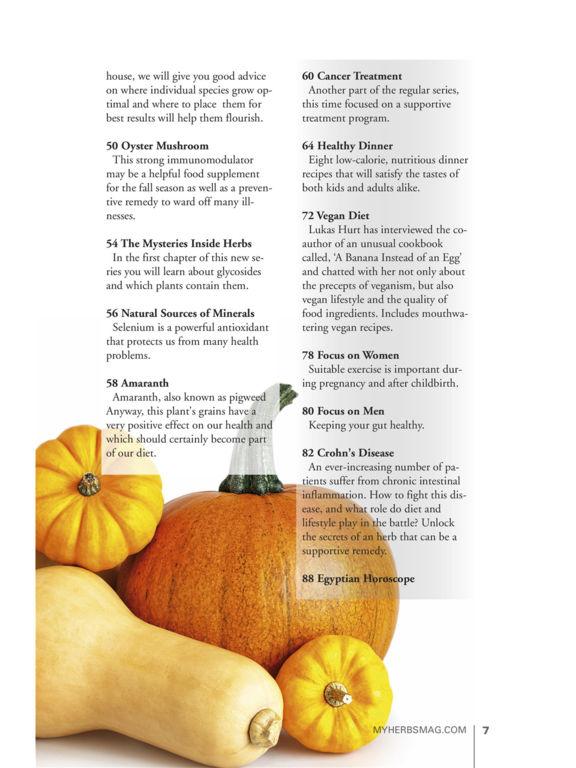 My Herbs Magazine screenshot 8
