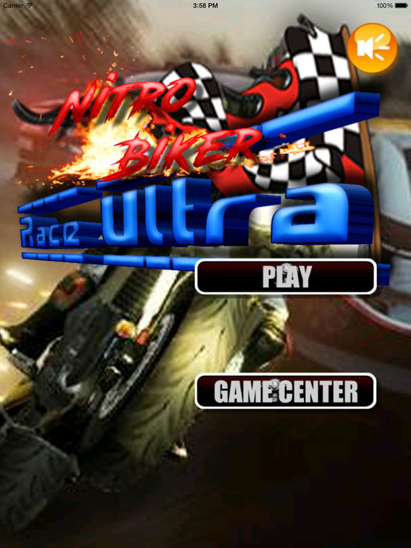 A Nitro Biker Race Ultra Pro - Motorcycle Driving 3D Game screenshot 6