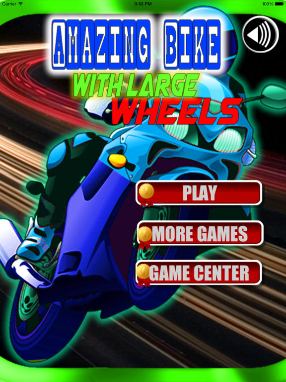 Amazing Bike With Large Wheels - Extreme Game screenshot 6