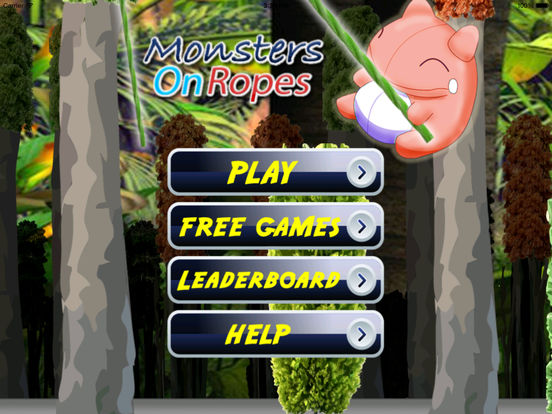 Monsters On Ropes - Swinging Your Monster To The Top And Get To Victory screenshot 6