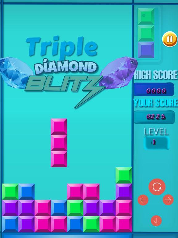Triple Diamond Blitz PRO - Match 3 Puzzle screenshot 9