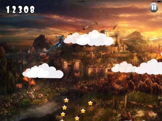 Clan Dark Jumping Pro - Samurai Adventure Game screenshot 10