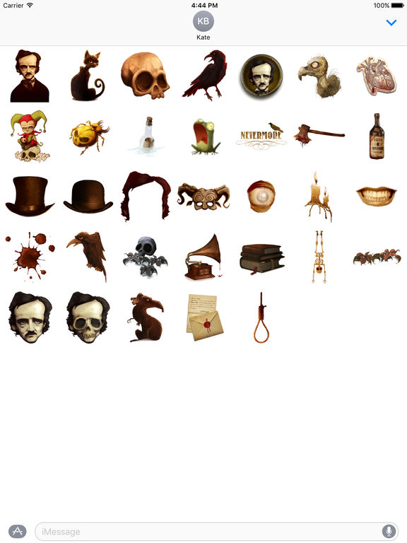 Poe Stickers screenshot 4