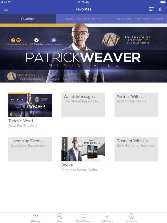 Patrick Weaver Ministries screenshot 5