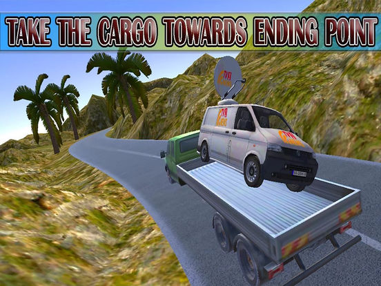 Army Delivery Truck Cargo 3d screenshot 5
