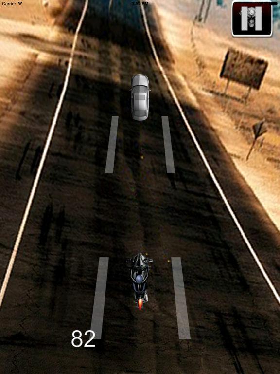 A Speed Endless Biker - Simulator Motorcycle Driver Game screenshot 9