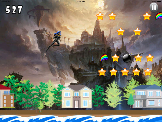 A Mega Jump Girl - Insanely addictive Game screenshot 8