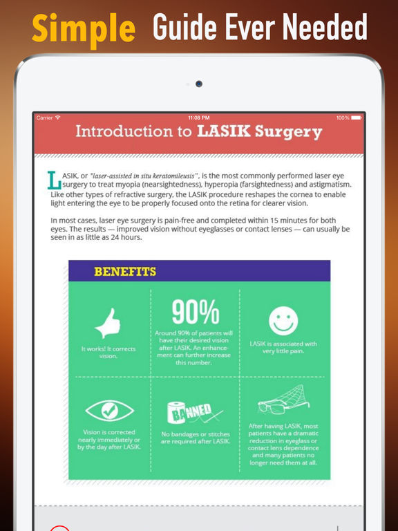 Laser Eye Surgery Guide:Recovery Tips and Tutorials screenshot 7