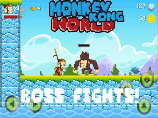 Monkey Kong world - The legend screenshot 6