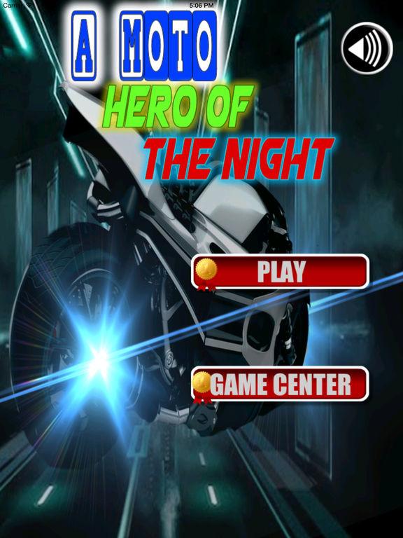 A Moto Hero Of The Night - Extreme Motorcycle Game screenshot 6