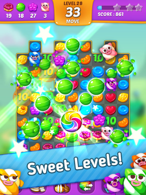 Lollipop: Sweet Taste Match3 screenshot 8