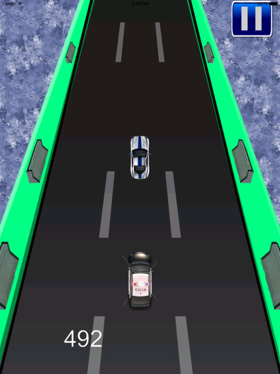 A Transit Police Car Pro - Cop Race screenshot 10