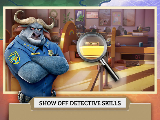 Zootopia Crime Files: Hidden Object screenshot 9