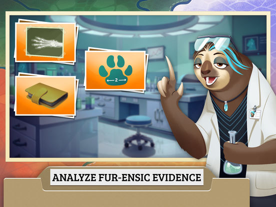 Zootopia Crime Files: Hidden Object screenshot 7