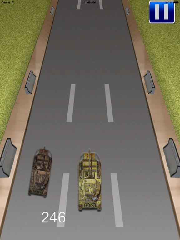 Tank Monster Race - Addictive Revolution War screenshot 8