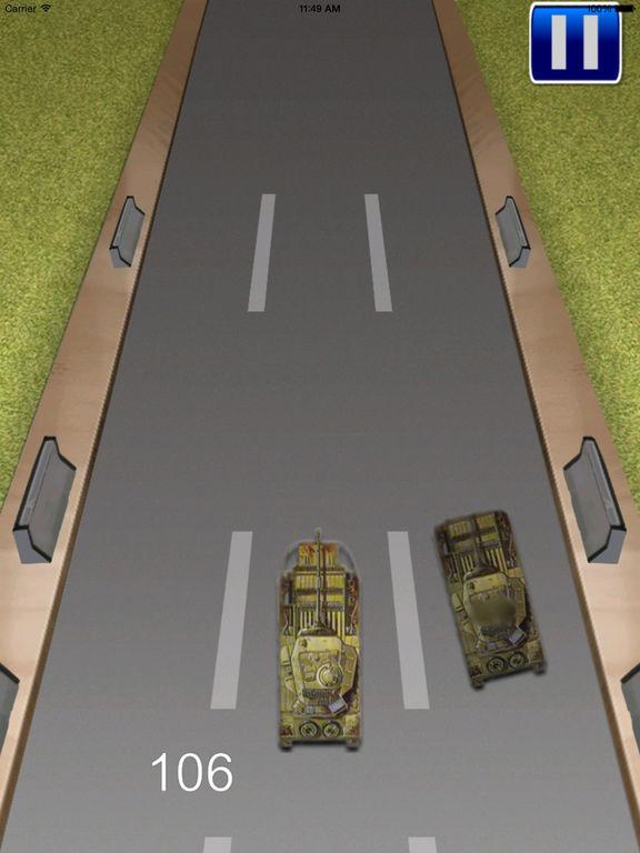 Tank Monster Race - Addictive Revolution War screenshot 9