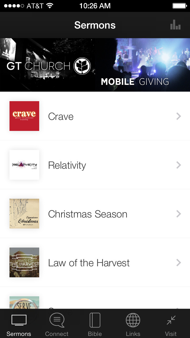 Glad Tidings Church App screenshot 1