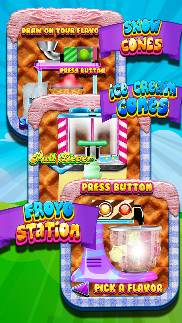 """ A Awesome Sauce Ice Cream Mogul Mania Dessert Maker for Kids! screenshot 3"
