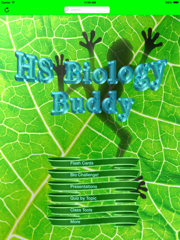 HS Biology Buddy 2019 screenshot 5