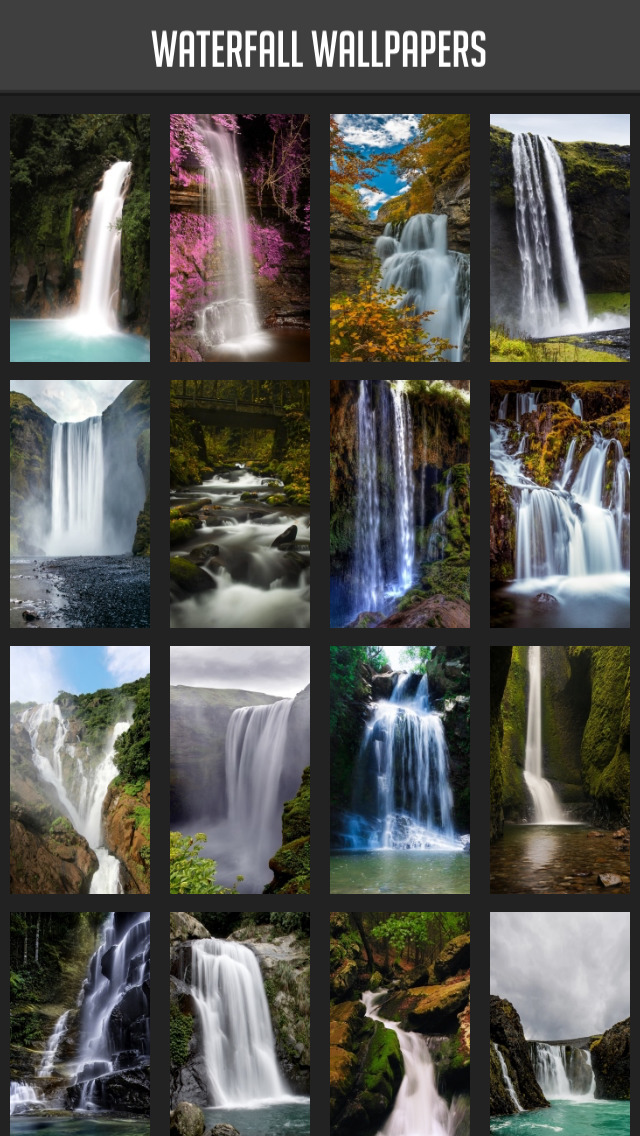 Waterfall Wallpaper screenshot 1