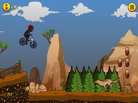 A BMX Stickman Racer - eXtreme Stunts & Tricks Racing Edition screenshot 6