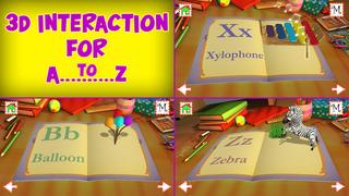 Kids ABC 3D - Educational Games for Kids screenshot 1