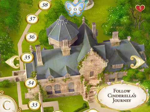 Cinderella Free Fall screenshot 9