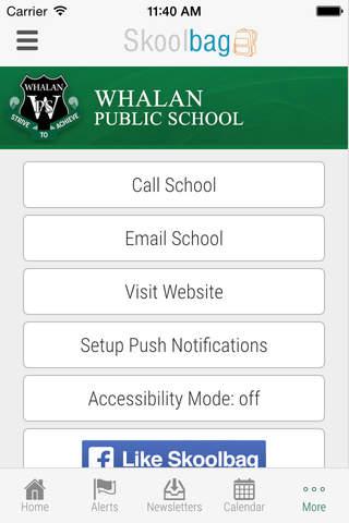 Whalan Public School - Skoolbag - náhled