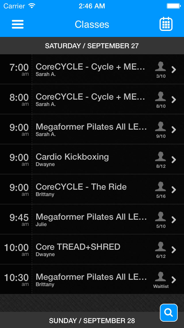 Coreology Fitness screenshot #3