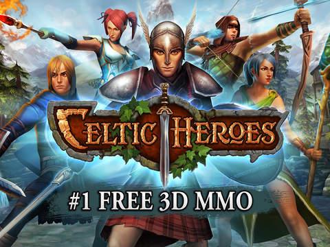Celtic Heroes 3D MMO screenshot 6