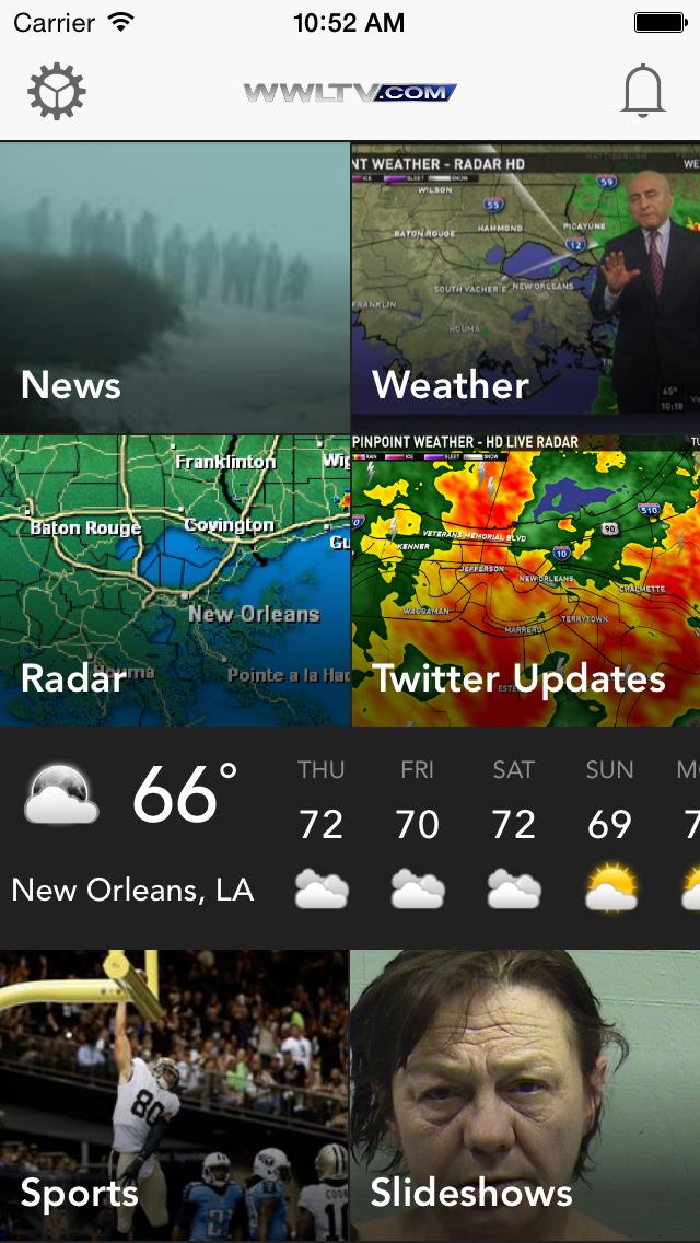 WWL-TV New Orleans News screenshot 1