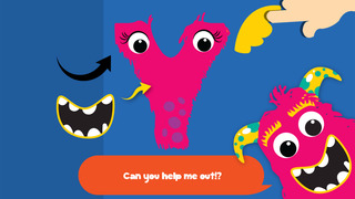 My first alphabet and letters monster puzzle Jigsaw Game for toddlers and preschoolers screenshot 3