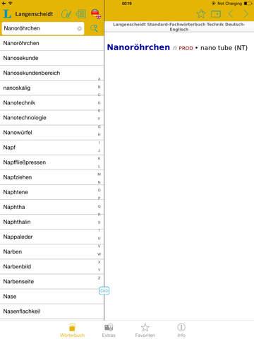 Technik Englisch<->Deutsch Fachwörterbuch Standard screenshot 7