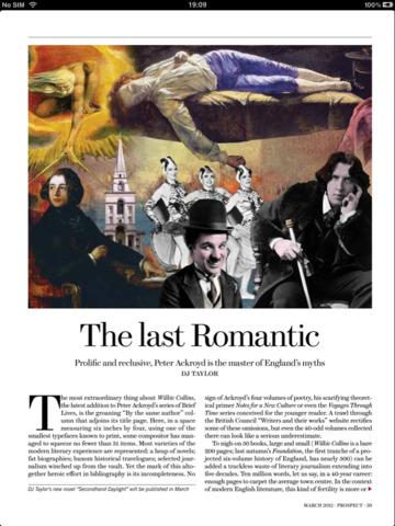 Prospect Magazine screenshot 6