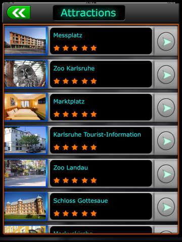 Karlsruhe Offline Map Travel Guide screenshot 8