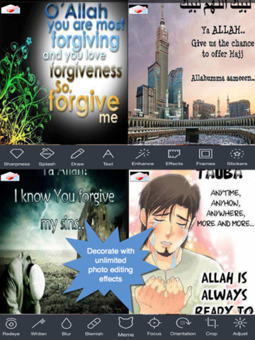 All Time Islamic Greeting Cards.Customising and Sending eCards with Islamic Teachings screenshot 8