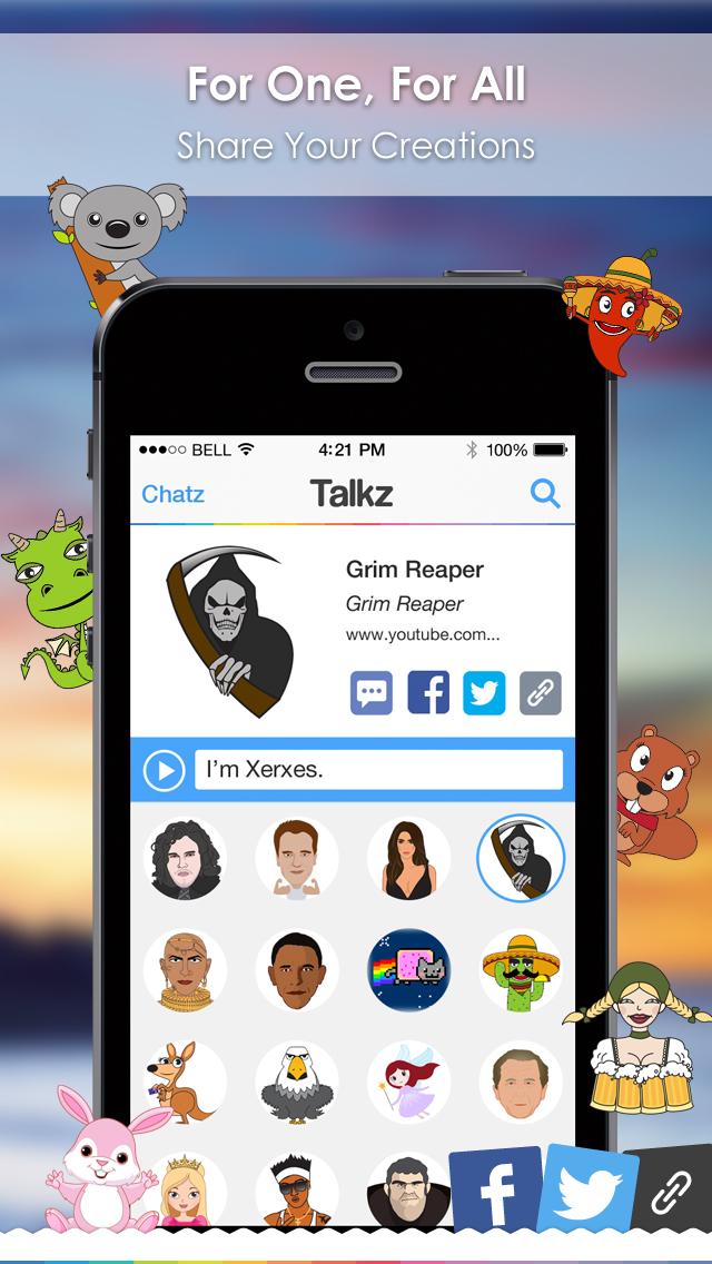Celeb Voice Filter - Talkz screenshot 2