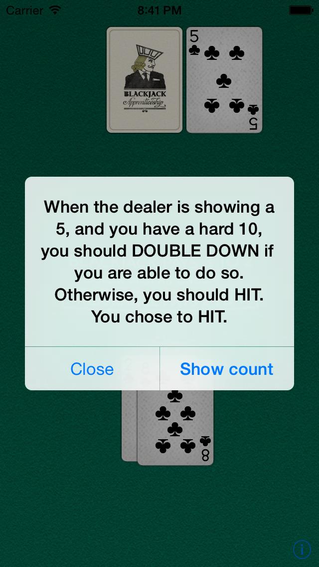 Blackjack & Card Counting Pro screenshot 4