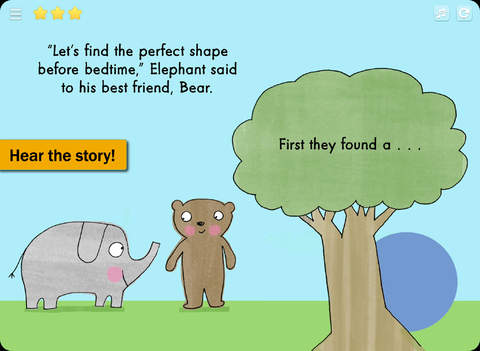Elephant, Bear, Circle, Square - The Learning Company Little Books screenshot 6